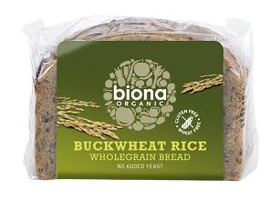 Biona Buckwheat Rice Bread