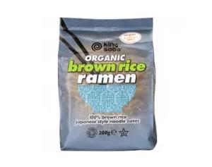 King Soba Organic Brown Rice Ramen Noodles