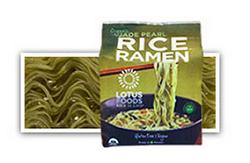 Lotus Foods Jade Pearl Rice Ramen, one of the best gluten free ramen noodles