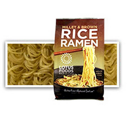 Lotus Foods Organic Millet & Brown Rice Ramen with Miso Soup