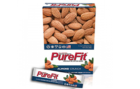 Purefit Almond Crunch Nutrition Bars