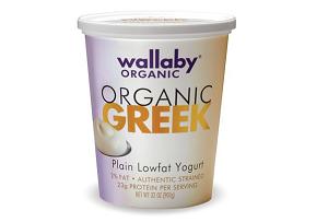 Wallaby Organic Greek Lowfat Plain