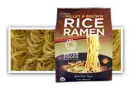 Lotus Foods Organic Millet & Brown Rice Ramen