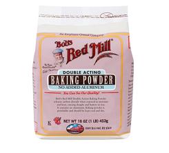 Bob's Red Mill Baking Powder, one of the best gluten free baking powder brands