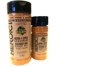 California Gold BBQ Rubs HEROIC. One of the best sugar free bbq sauce brands