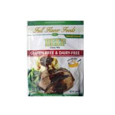 Full Flavor Foods Beef Gluten Free Gravy Mix
