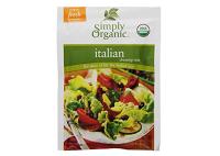 Simply Organic Certified Gluten Free Salad Dressings